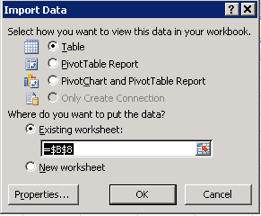 Creating Microsoft Excel Connections to SQL databases - ERP Software