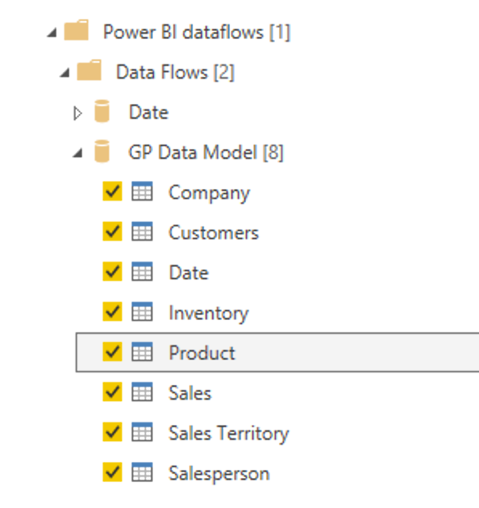 Dataflows for Power BI with Dynamics GP Data: Part 2 - KTL