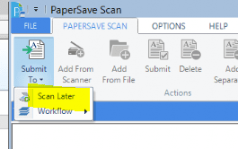 papersave scan later