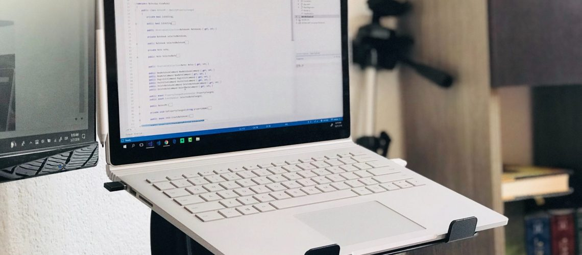 turned-on-white-laptop-computer-968631